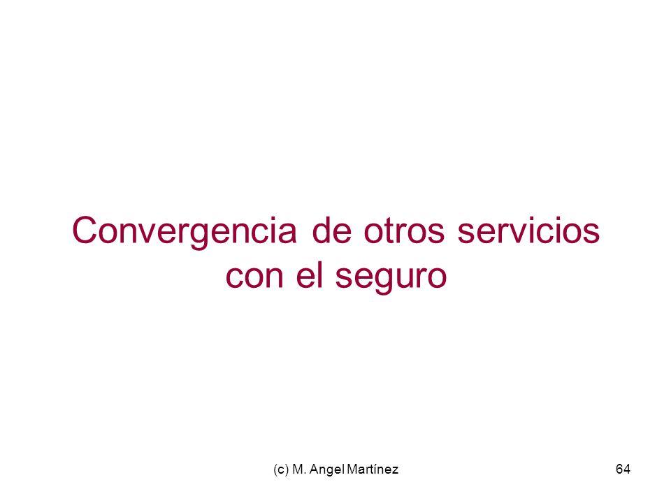 Convergencia de otros servicios con el seguro