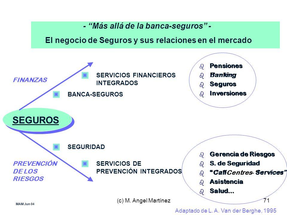 SEGUROS - Más allá de la banca-seguros -