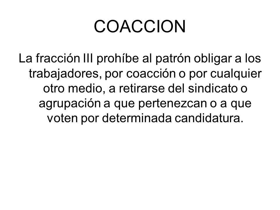COACCION