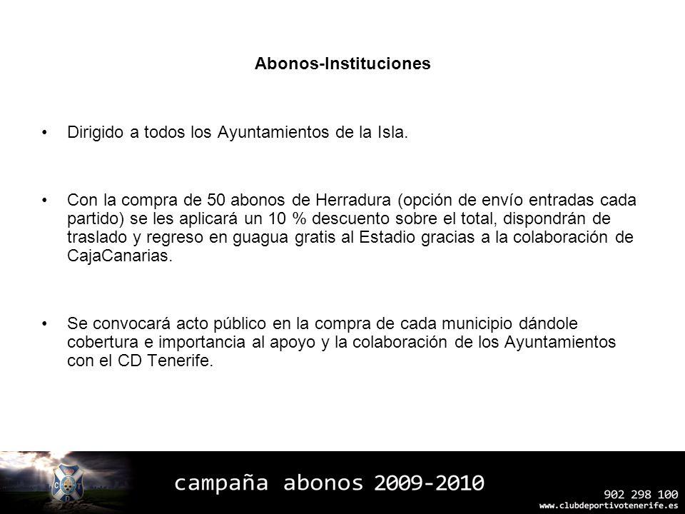 Abonos-Instituciones