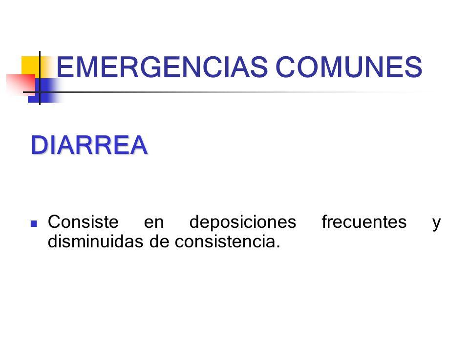 EMERGENCIAS COMUNES DIARREA