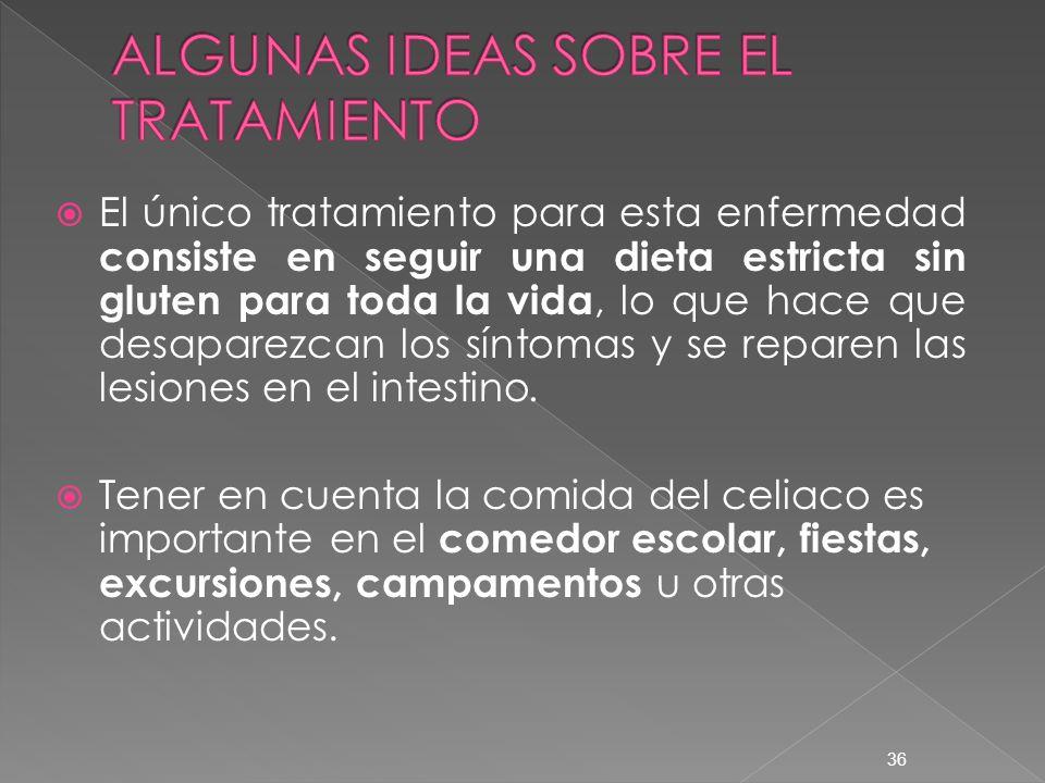 ALGUNAS IDEAS SOBRE EL TRATAMIENTO