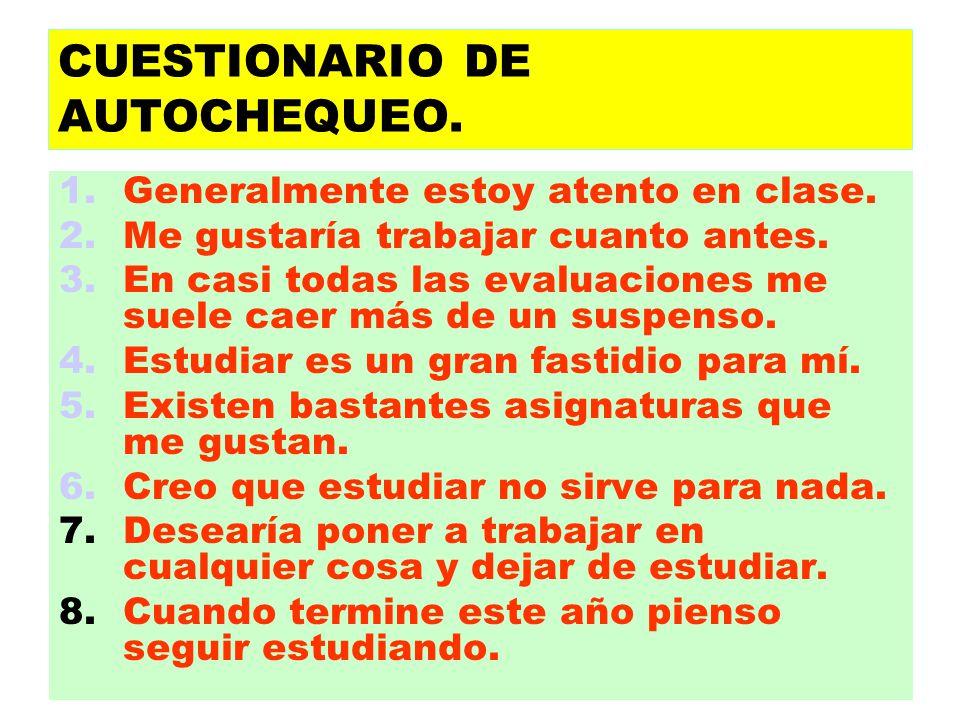 CUESTIONARIO DE AUTOCHEQUEO.