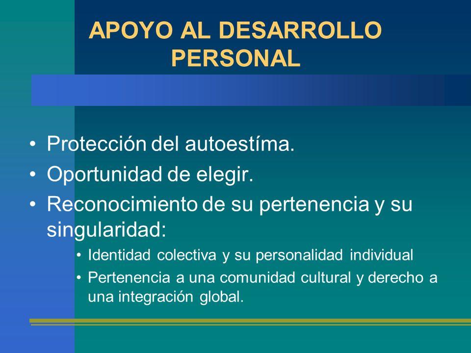 APOYO AL DESARROLLO PERSONAL