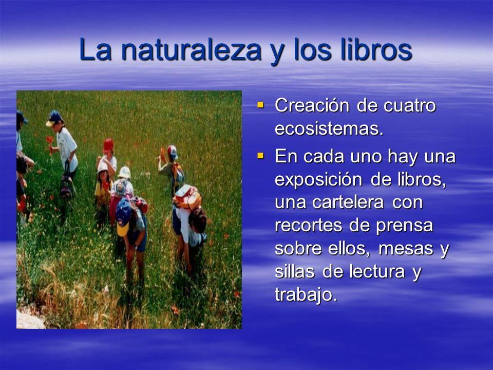 La naturaleza y los libros