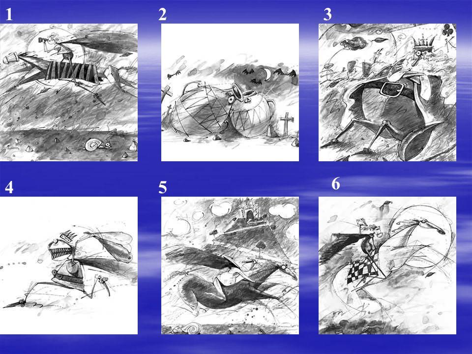 1 2 3 6 4 5 Inventar una historia con esta secuencia de imágenes.