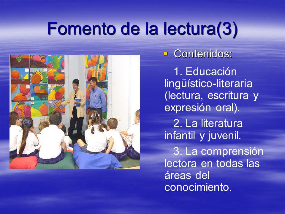 Fomento de la lectura(3)