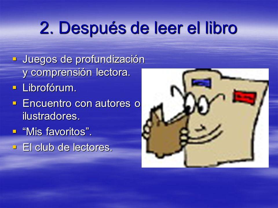 2. Después de leer el libro