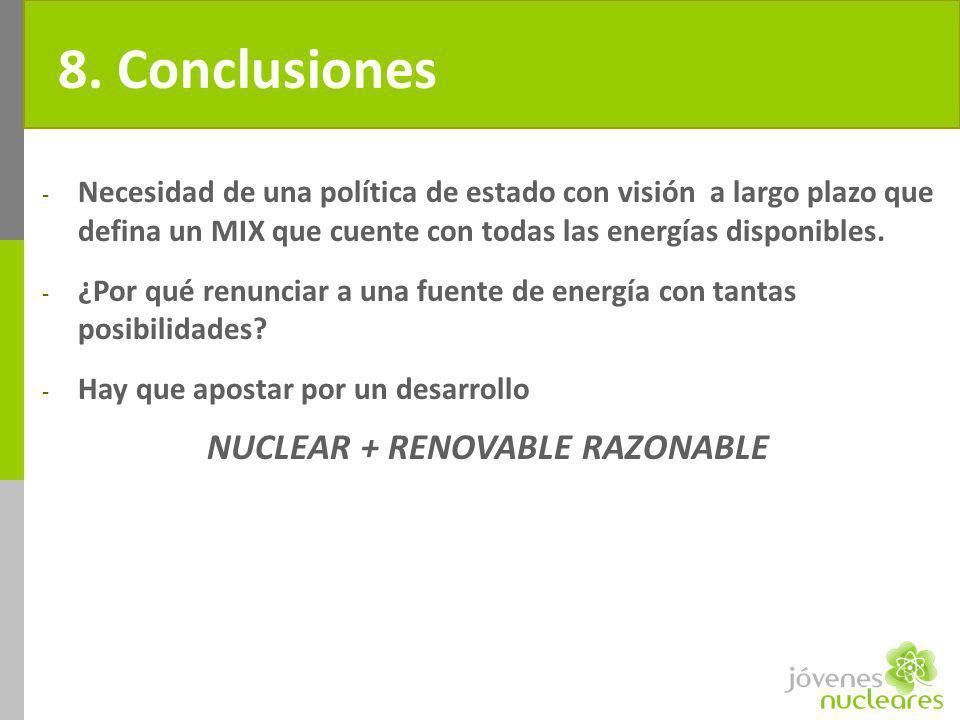 NUCLEAR + RENOVABLE RAZONABLE