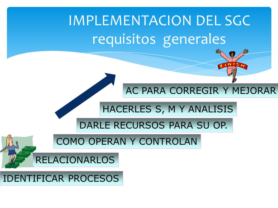 IMPLEMENTACION DEL SGC requisitos generales