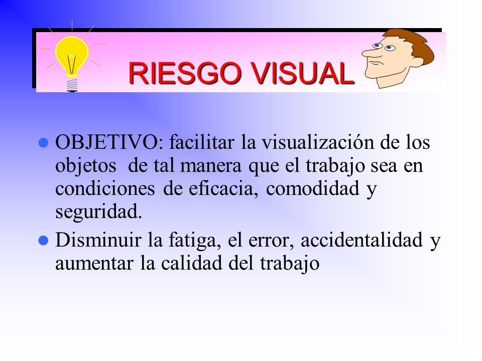 RIESGO VISUAL