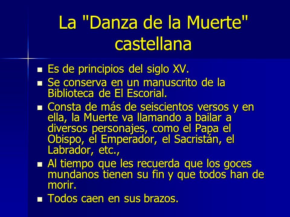 La Danza de la Muerte castellana