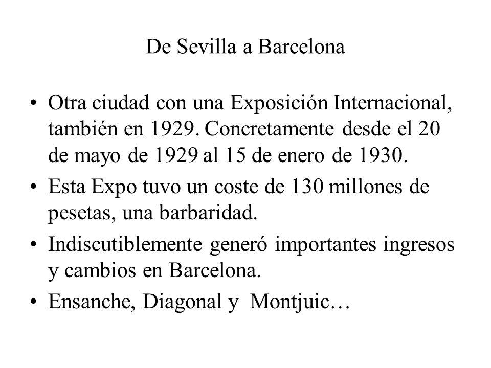 De Sevilla a Barcelona