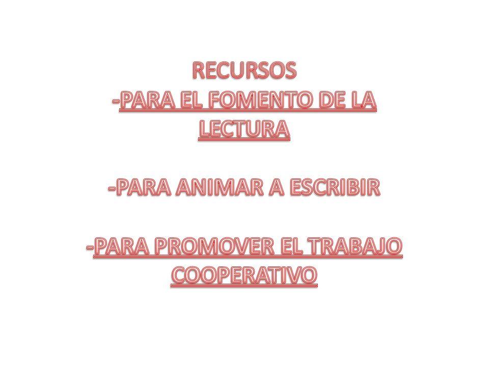 -PARA EL FOMENTO DE LA LECTURA