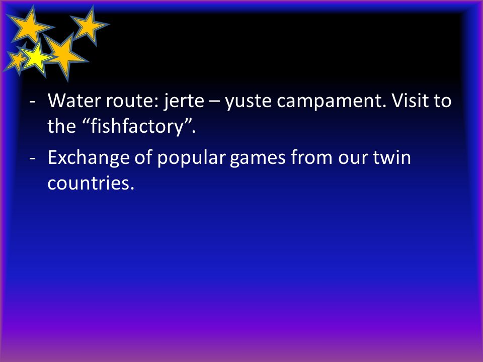 Water route: jerte – yuste campament. Visit to the fishfactory .