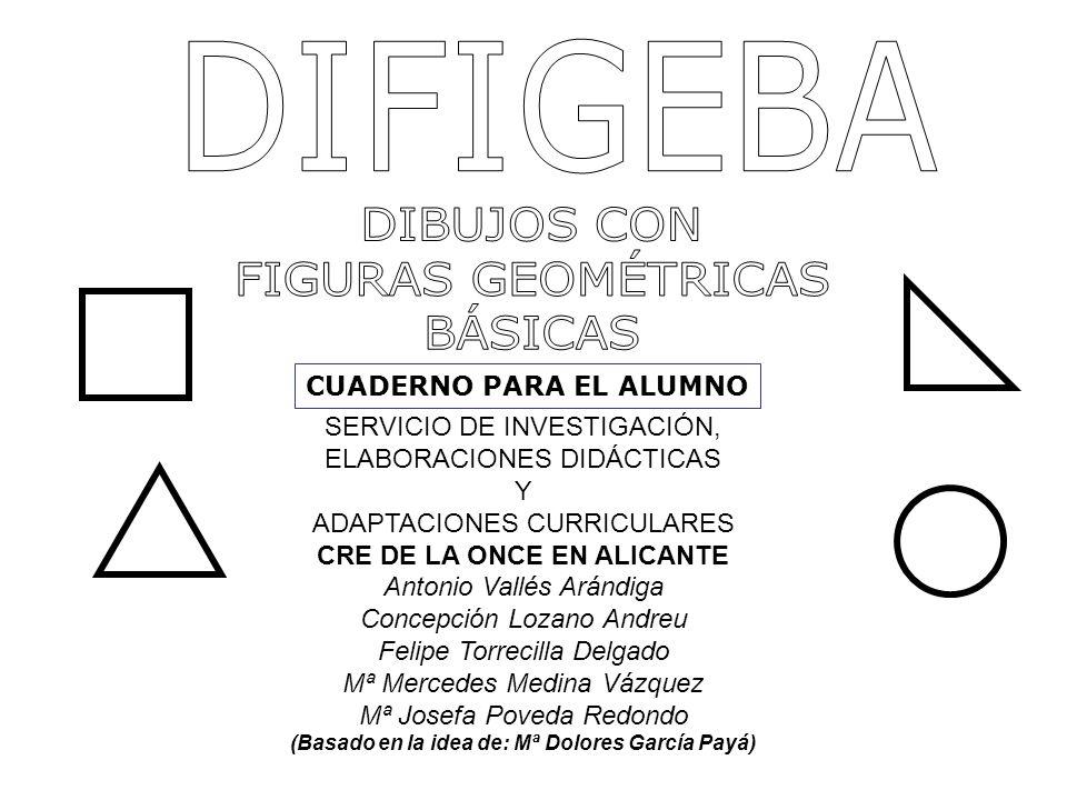 DIFIGEBA DIBUJOS CON FIGURAS GEOMÉTRICAS BÁSICAS