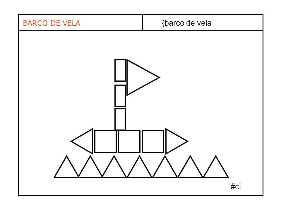 BARCO DE VELA {barco de vela #ci