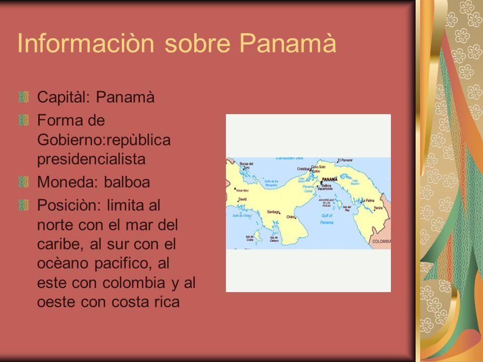 Informaciòn sobre Panamà