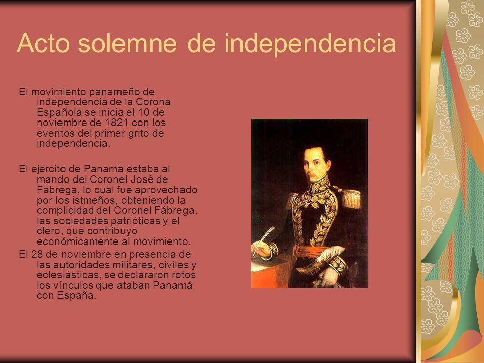 Acto solemne de independencia
