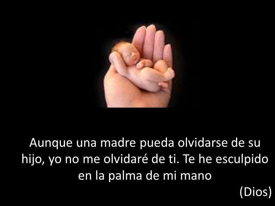 Aunque una madre pueda olvidarse de su hijo, yo no me olvidaré de ti