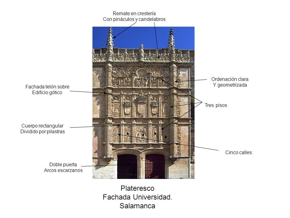 Renacimiento espa ol arquitectura ppt video online for En que universidades hay arquitectura