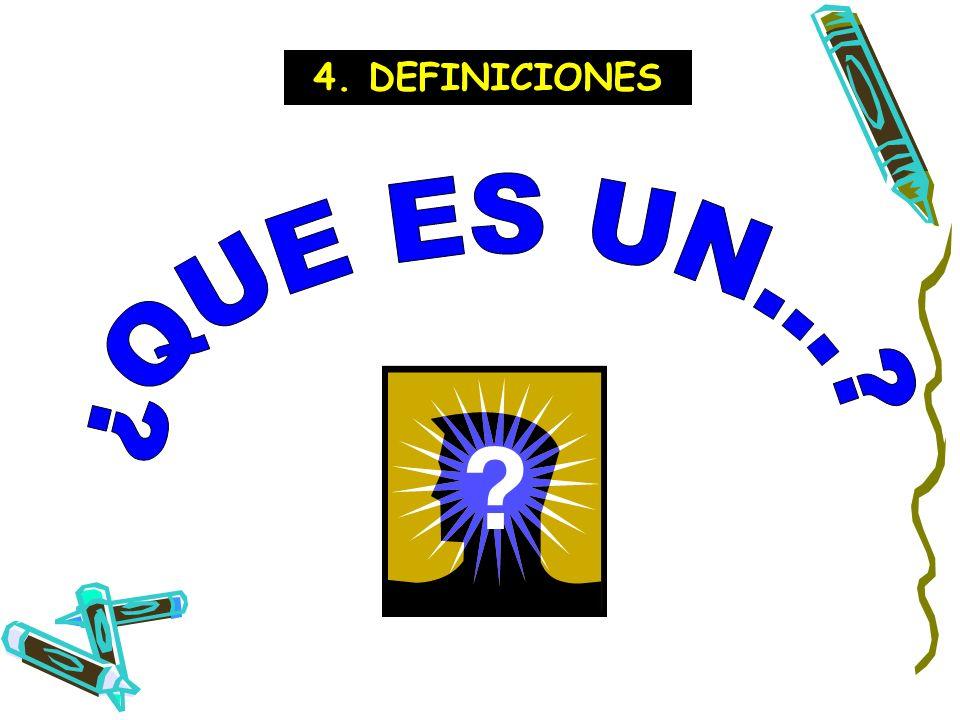 4. DEFINICIONES ¿QUE ES UN...