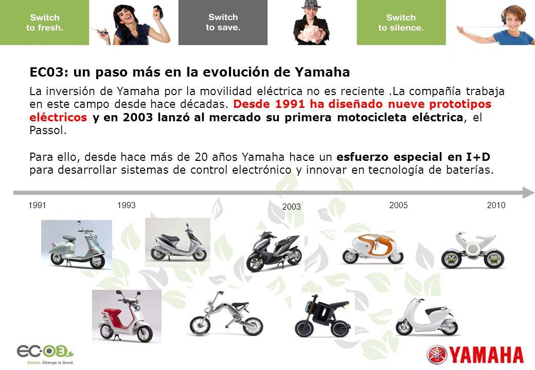 EC03: un paso más en la evolución de Yamaha