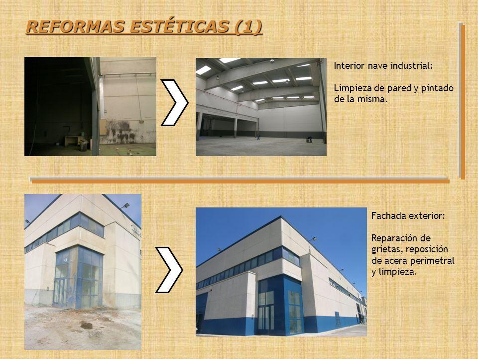 REFORMAS ESTÉTICAS (1) Interior nave industrial: