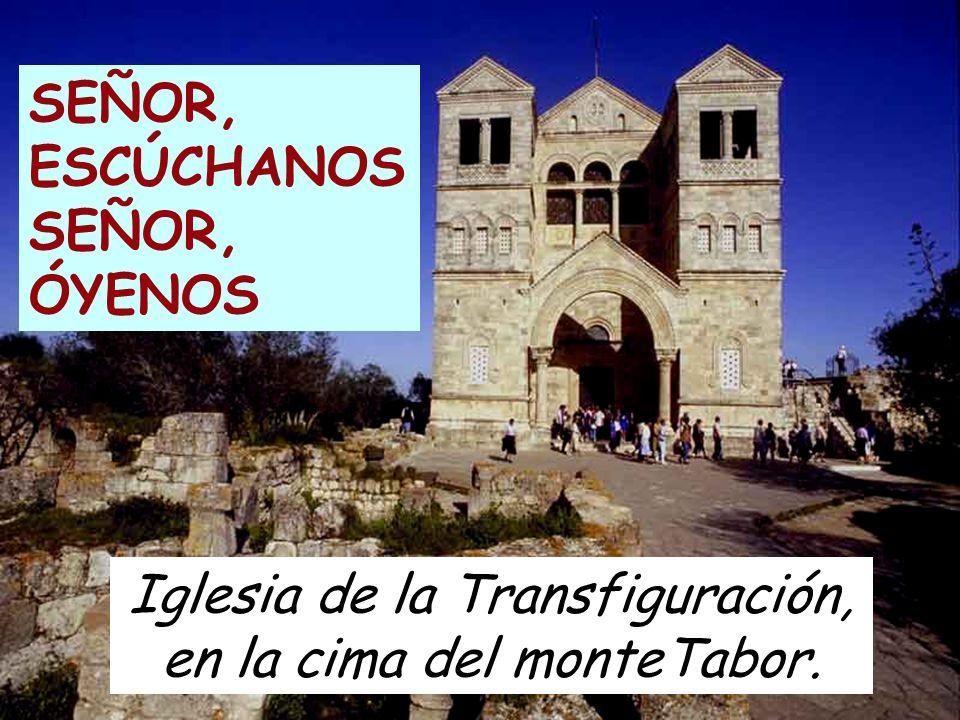 Iglesia de la Transfiguración, en la cima del monteTabor.