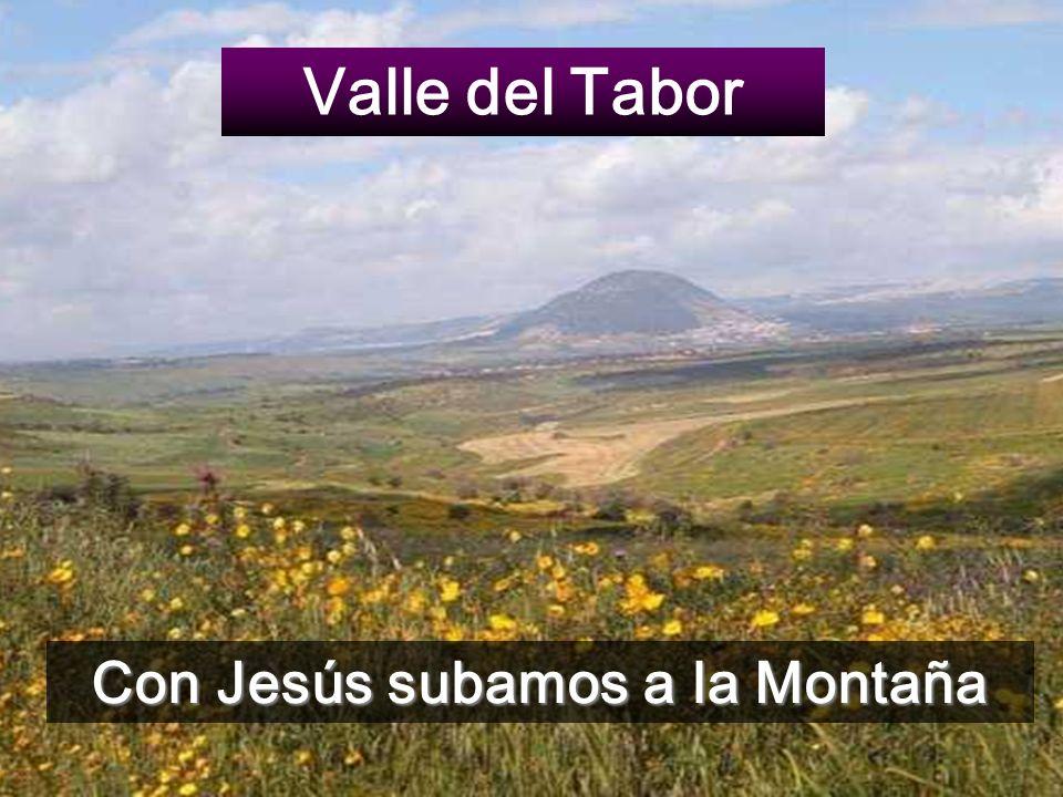 Con Jesús subamos a la Montaña