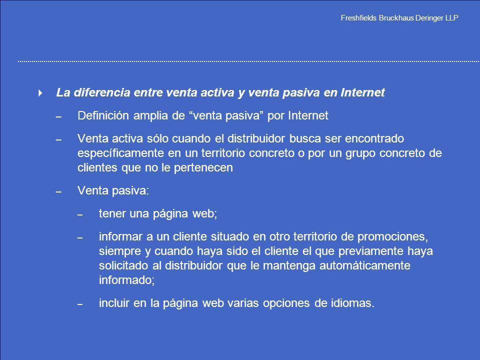 La diferencia entre venta activa y venta pasiva en Internet