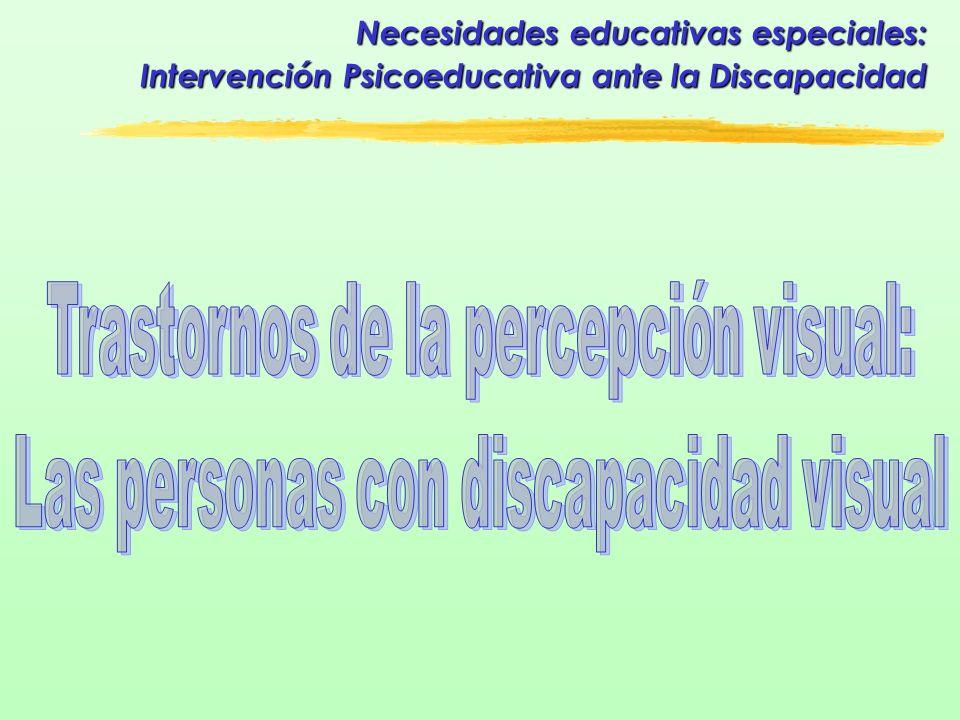 Trastornos de la percepción visual: