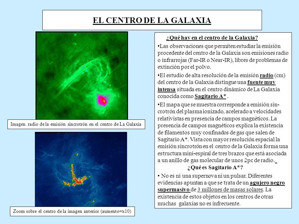 EL CENTRO DE LA GALAXIA ¿Qué hay en el centro de la Galaxia