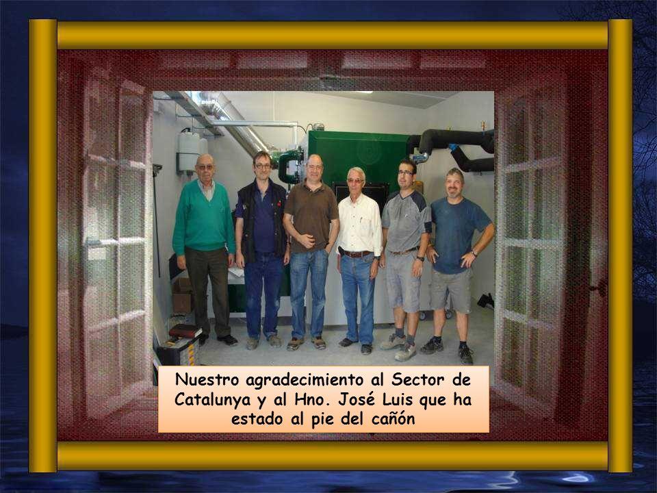 Nuestro agradecimiento al Sector de Catalunya y al Hno