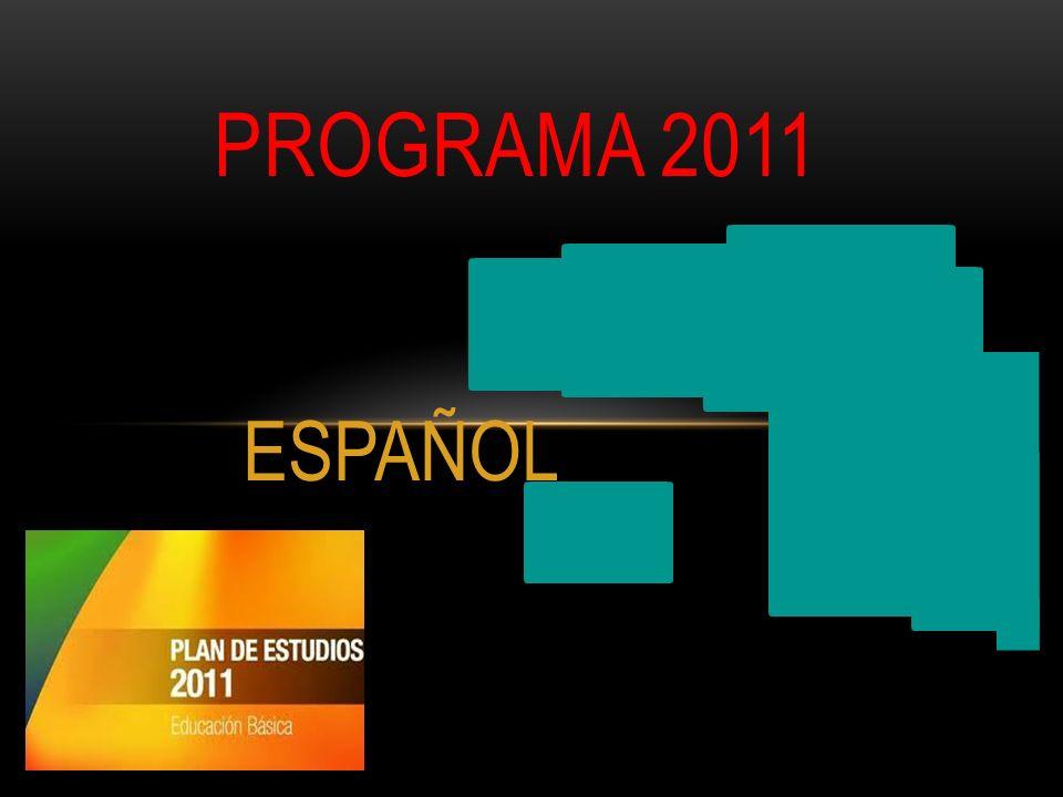 PROGRAMA 2011 ESPAÑOL
