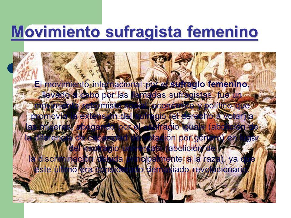 Movimiento sufragista femenino