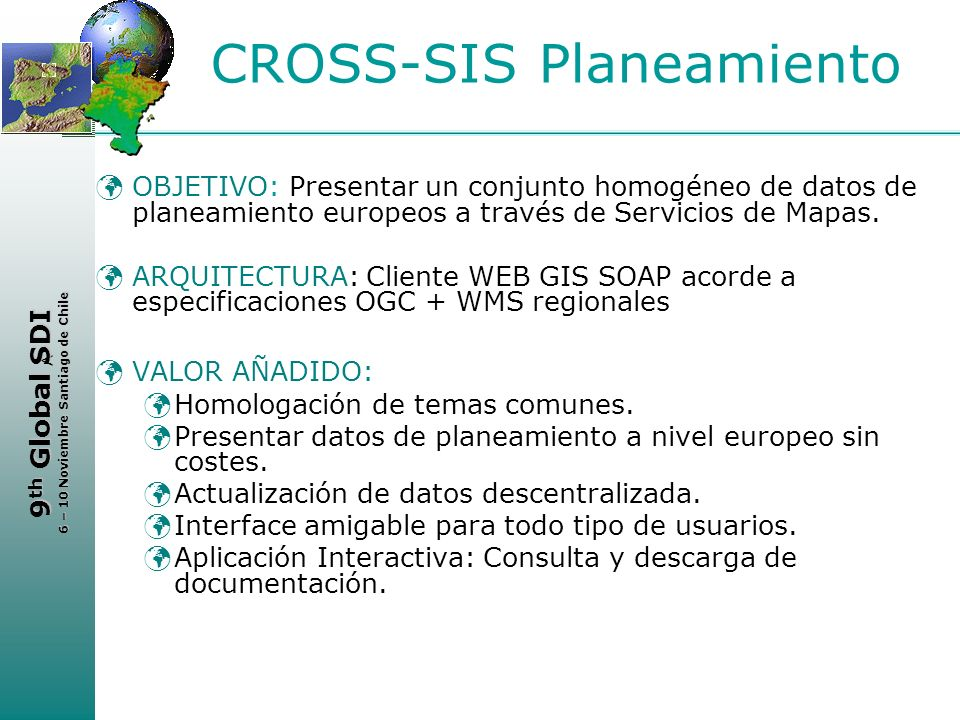 CROSS-SIS Planeamiento