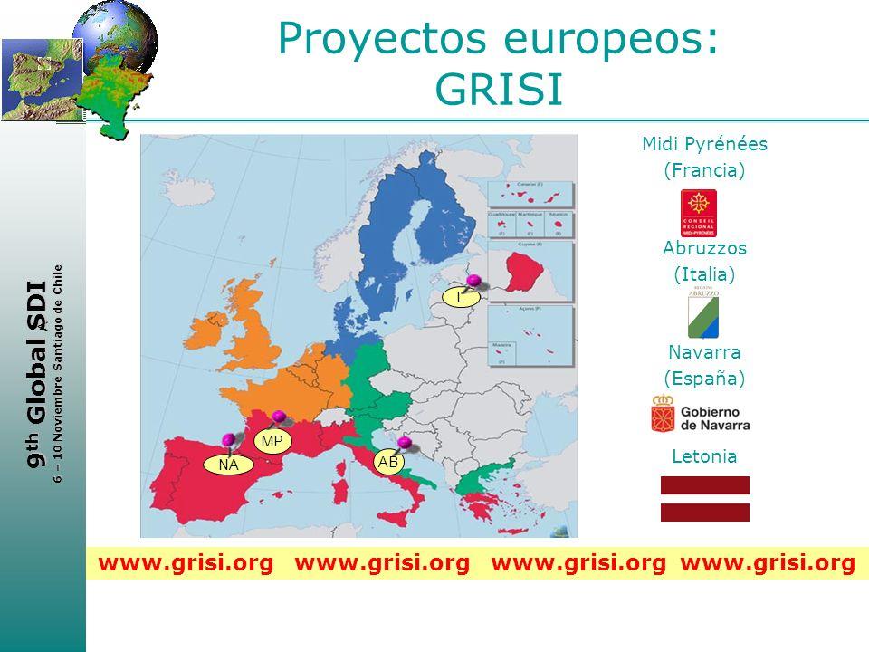 Proyectos europeos: GRISI