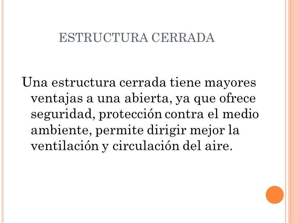 ESTRUCTURA CERRADA