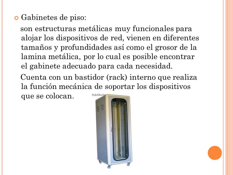 Gabinetes de piso: