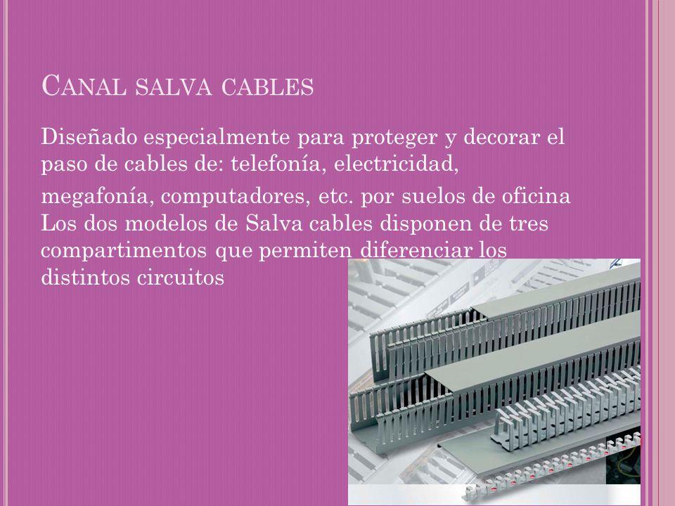 Canal salva cables