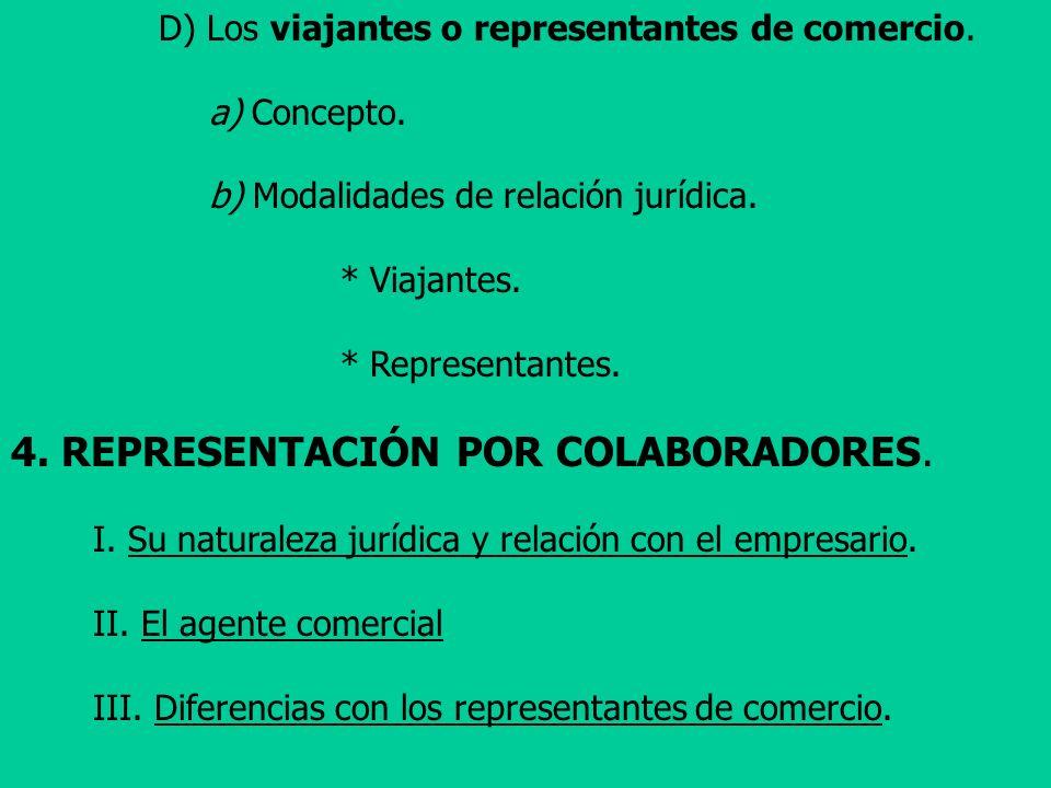4. REPRESENTACIÓN POR COLABORADORES.