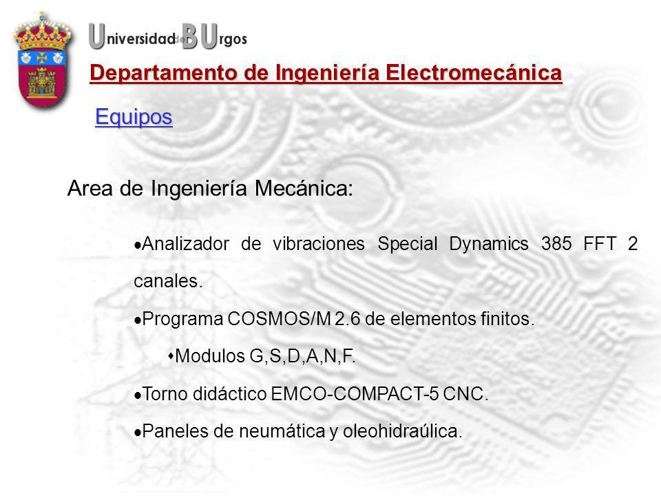 Area de Ingeniería Mecánica: