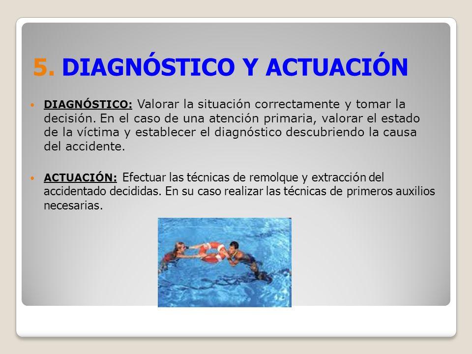 5. DIAGNÓSTICO Y ACTUACIÓN