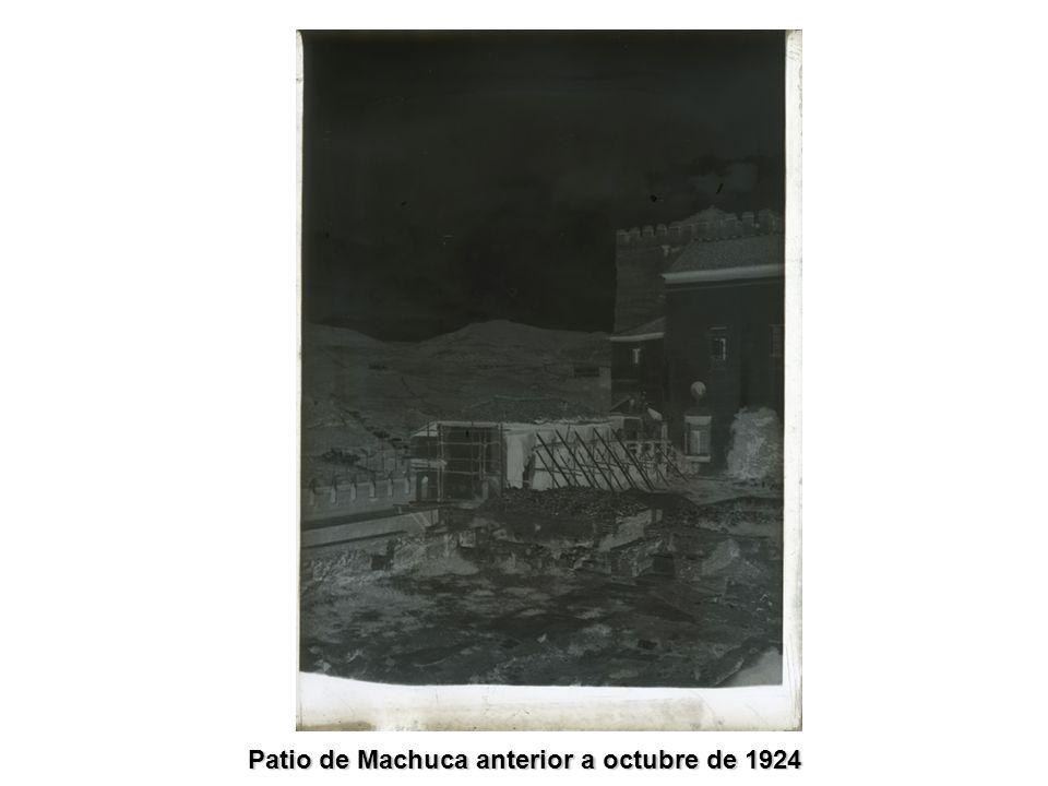 Patio de Machuca anterior a octubre de 1924