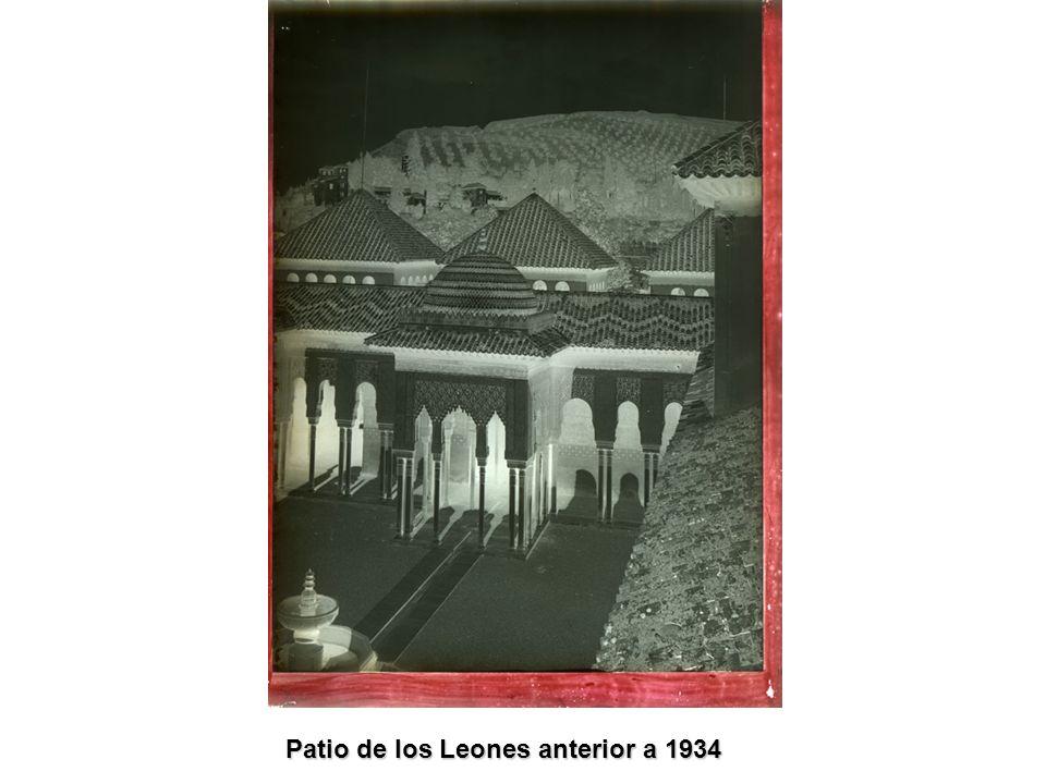 Patio de los Leones anterior a 1934