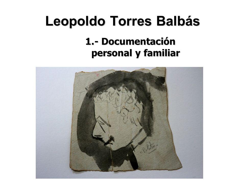 Leopoldo Torres Balbás