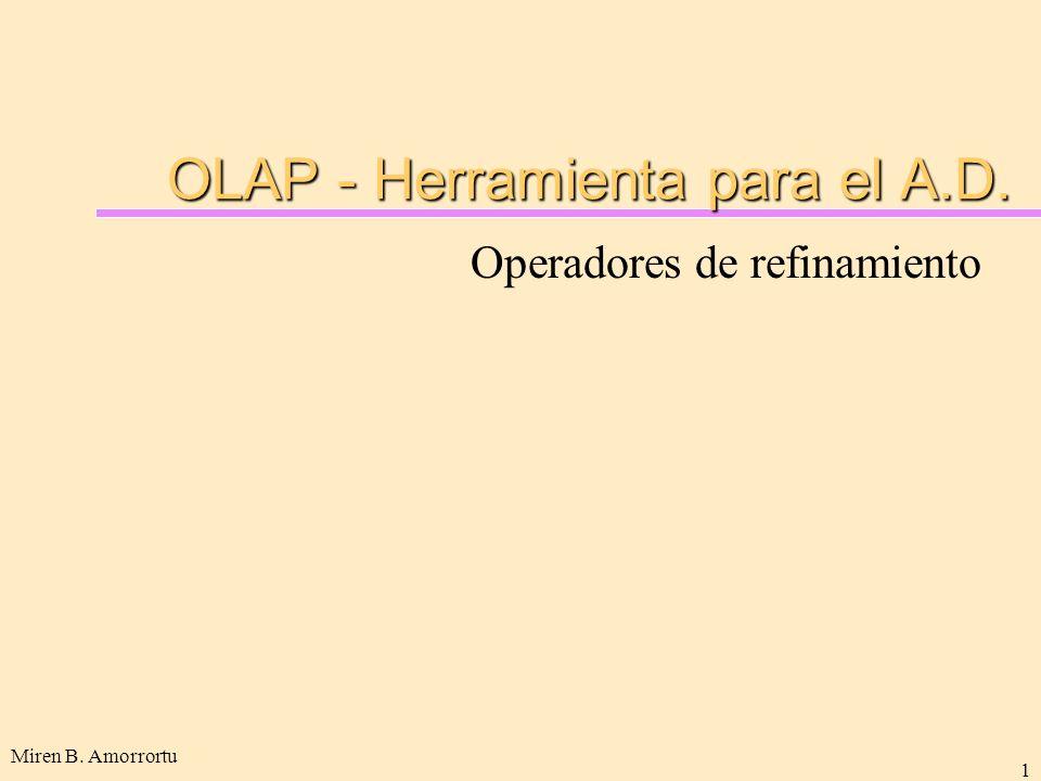 OLAP - Herramienta para el A.D.