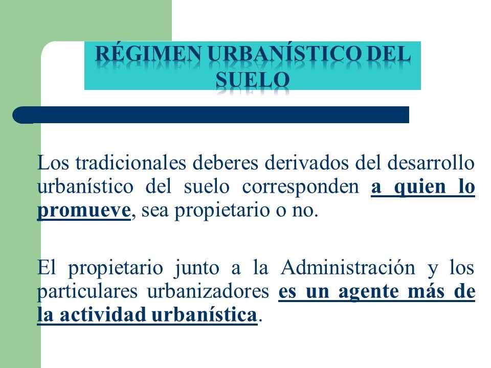 Régimen urbanístico del suElo