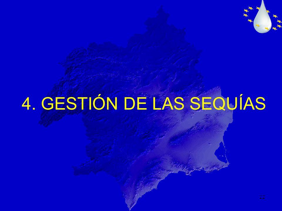 4. GESTIÓN DE LAS SEQUÍAS